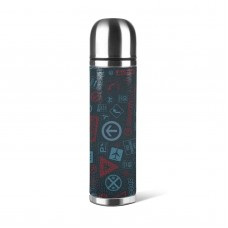 Vacuum Insulated Stainless Steel Water Bottle,Very suitable for any indoor and outdoor activities Reusable Water Bottle,500ml,Stainless Steel.